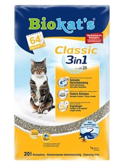 Biokat's Classic Kattenbakvulling 20