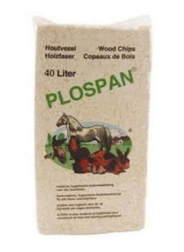 Plospan Houtvezel 4 x 40 liter