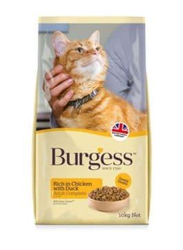 Burgess Cat Adult Rijk aan Kip 10KG