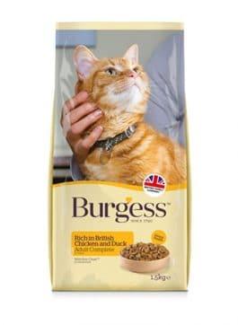 Burgess Cat Adult Rijk aan Kip 1,5KG