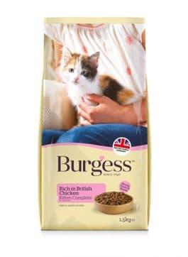 Burgess Kitten Rijk aan Kip 1,5KG
