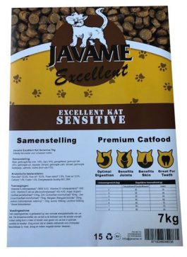 Javame Excellent Kat Sensitive 7kg