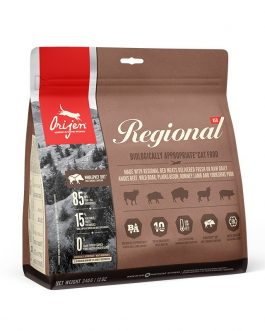 Orijen WHOLE PREY Regional Red Cat 340 gr.