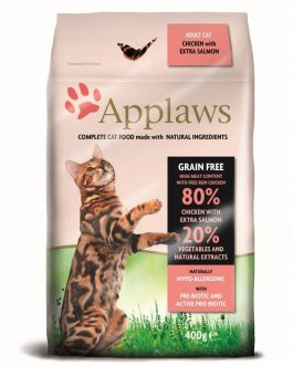 Applaws CAT DRY Adult Chicken & Salmon 400 gr.