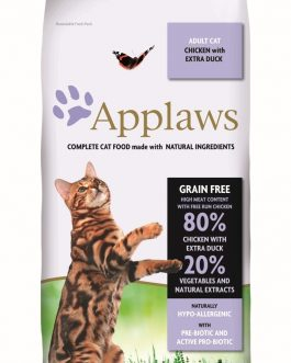 Applaws CAT DRY Adult Chicken & Duck 2 kg.