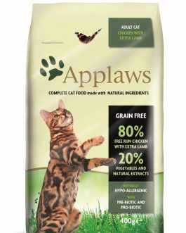 Applaws CAT DRY Adult Chicken & Lamb 400 gr.