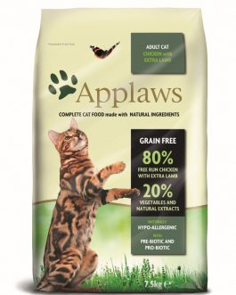 Applaws CAT DRY Adult Chicken & Lamb 7.5 kg.