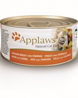 Applaws CAT CANS Chicken Breast & Pumpkin 70 gr.