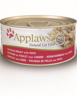Applaws CAT CANS Chicken & Duck 70 gr.