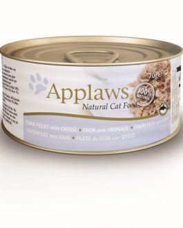 Applaws CAT CANS Tuna Fillet & Cheese 70 gr.