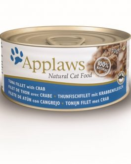 Applaws CAT CANS Tuna & Crab 70 gr.