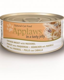 Applaws CAT CANS JELLY Chicken & Mackerel 70 gr.