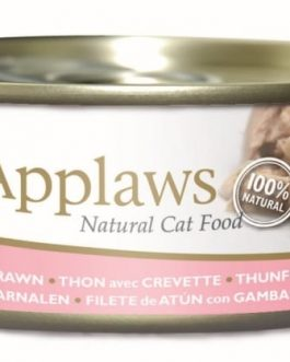 Applaws CAT CANS Tuna Fillet & Prawn 156 gr.