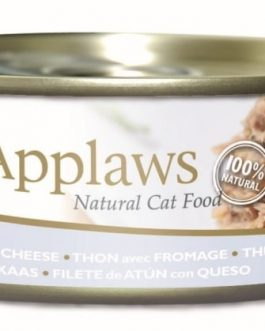 Applaws CAT CANS Tuna Fillet & Cheese 156 gr.