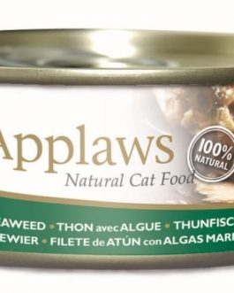 Applaws CAT CANS Tuna Fillet & Seaweed 156 gr.
