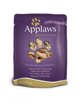 Applaws CAT QUICK SERVE Chicken & Rice 70 gr.