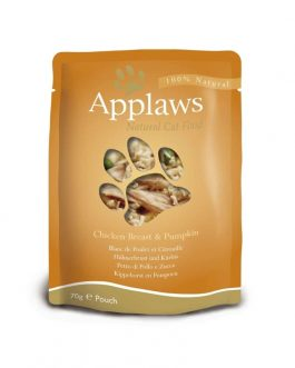 Applaws CAT QUICK SERVE Chicken & Pumpkin 70 gr.