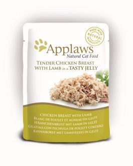 Applaws CAT QUICK SERVE JELLY Chicken & Lamb 70 gr.