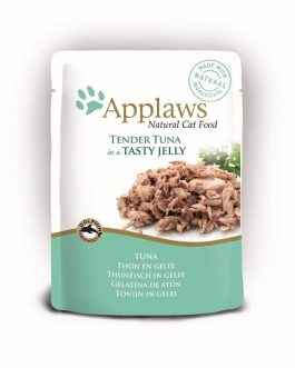 Applaws CAT QUICK SERVE JELLY Tuna Wholemeat 70 gr.