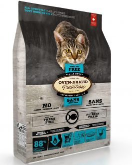 OBT Grain Free Cat Food Fish 4.54 kg