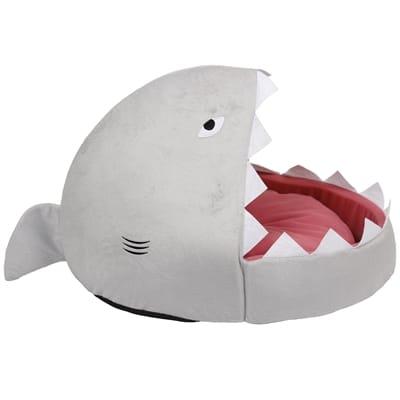 Ministry of pets kattenmand iglo sheila de haai grijs