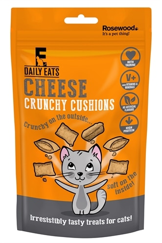 Rosewood leaps&bounds crunchy cheese cushions