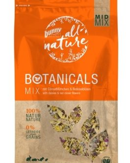 Bunny nature botanicals midi mix madelief / rode klaver bloesem