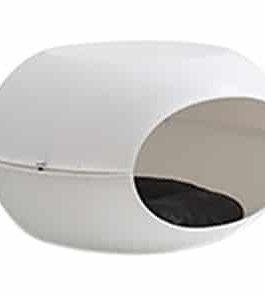 Martin sellier kattenmand capsule kunststof wit / wit